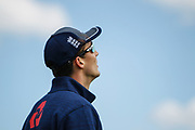 Steven Finn of England before the One Day International match between England and Ireland at the Brightside County Ground, Bristol, United Kingdom on 5 May 2017. Photo by Andrew Lewis.