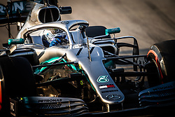 February 21, 2019 - Barcelona, Spain - 77 BOTTAS Valtteri (fin), Mercedes AMG F1 GP W10 Hybrid EQ Power+, action during Formula 1 winter tests from February 18 to 21, 2019 at Barcelona, Spain - Photo  Motorsports: FIA Formula One World Championship 2019, Test in Barcelona, (Credit Image: © Hoch Zwei via ZUMA Wire)