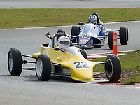 #22 Edwin HANNAH Reynard FF84  during Avon Tyres Formula Ford 1600 Northern Championship - Pre 90 as part of the BRSCC Oulton Park Season Opener at Oulton Park, Little Budworth, Cheshire, United Kingdom. March 24 2018. World Copyright Peter Taylor/PSP.