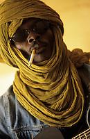Malian Guitarist in Timbuku