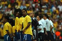 Photo: Tony Oudot.<br /> England v Brazil. International Friendly. 01/06/2007.<br /> Ronaldinho of Brazil lines up before the match