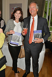 LUCY HERVEY-BATHURST and CHARLES DELEVINGNE at a party to celebrate the publication on 'The Ape Has Stabbed Me' by Vincent Poklewski Koziell held at The Polish Club, 55 Exhibition Road, London on 1st May 2014.
