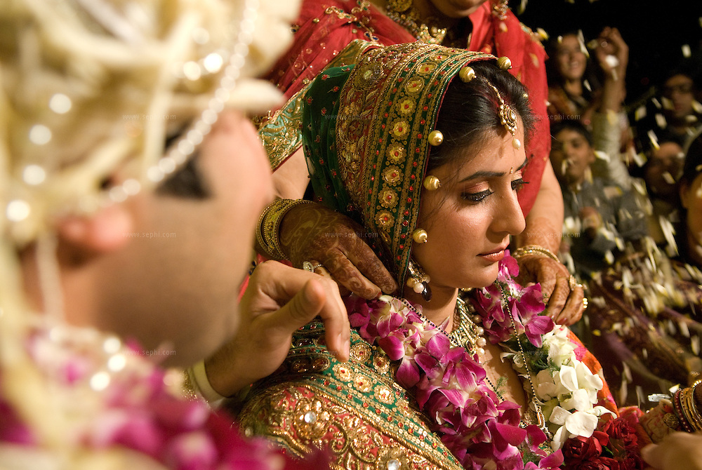 A Hindu Punjabi wedding in New Delhi, India 2008