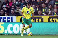 Picture by Paul Chesterton/Focus Images Ltd +44 7904 640267.03/11/2012.Javier Garrido of Norwich in action during the Barclays Premier League match at Carrow Road, Norwich.