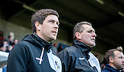 Bristol Rovers Manager Darrell Clarke during the Sky Bet League 2 match between Crawley Town and Bristol Rovers at the Checkatrade.com Stadium, Crawley, England on 21 November 2015. Photo by Bennett Dean.