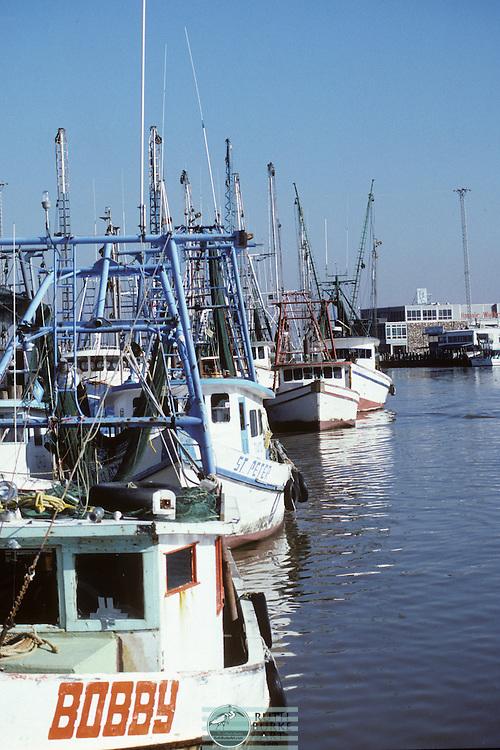 """Shrimp Boats in harbor along the Texas Gulf Coast """"Bobby"""""""