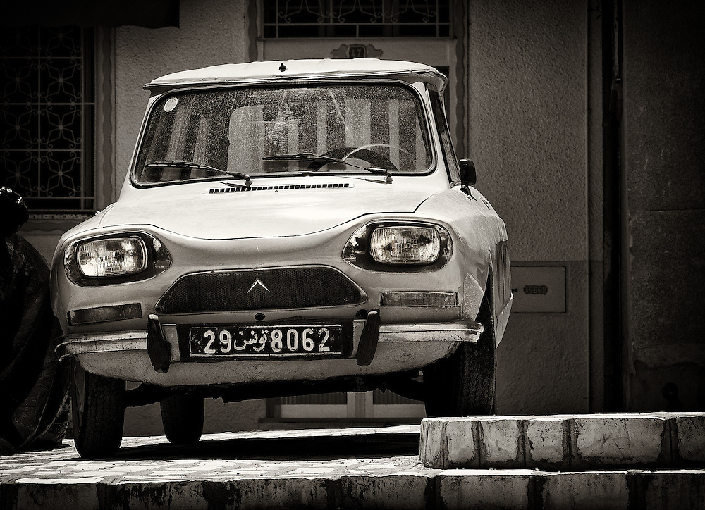 Tunisia - Old Citroen