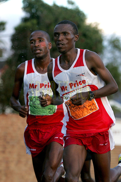 Warinyane and Lebopo during the 2010 Old Mutual 2 Oceans Ultra Marathon held in Cape Town, Western Cape, South Africa on the 3 April 2010.Photo by: Ron Gaunt/ SPORTZPICS
