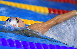 Anja Carman of Slovenia swims to placed 4th in the women's 200m backstroke final race at day 4 of LEN European Short Course Swimming Championships Rijeka 2008, on December 14, 2008,  in Kantrida pool, Rijeka, Croatia. (Photo by Vid Ponikvar / Sportida)