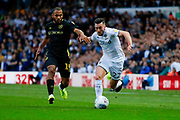 Leeds United midfielder Jack Harrison (22), on loan from Manchester City,  during the EFL Sky Bet Championship match between Leeds United and Brentford at Elland Road, Leeds, England on 21 August 2019.
