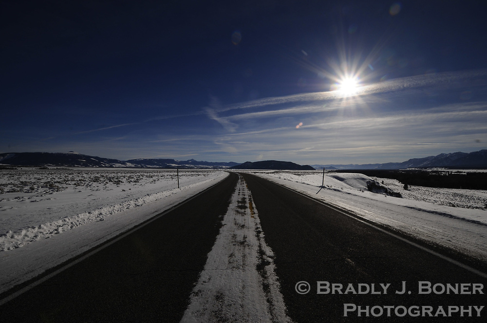 Highway 191 in Grand Teton National Park