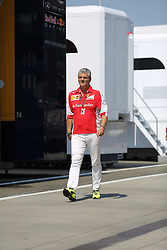 23.07.2015, Hungaroring, Budapest, HUN, FIA, Formel 1, Grand Prix von Ungarn, Vorberichte, im Bild Maurizio Arrivabene (Teamchef/Scuderia Ferrari) // during the preperation of the Hungarian Formula One Grand Prix at the Hungaroring in Budapest, Hungary on 2015/07/23. EXPA Pictures © 2015, PhotoCredit: EXPA/ Eibner-Pressefoto/ Bermel<br /> <br /> *****ATTENTION - OUT of GER*****