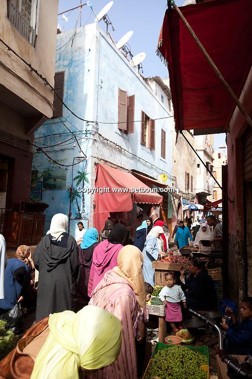 Morocco, Casablanca, market, the old medina
