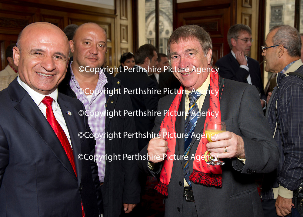 26.7.2012. Eskisehirspor Civic Reception,Perth Council Offices.<br /> <br /> COPYRIGHT: Perthshire Picture Agency.<br /> Tel. 01738 623350 / 07775 852112.