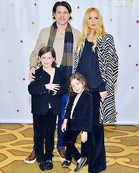 "Rachel Zoe releases a photo on Twitter with the following caption: """"Feeling grateful for my family today and everyday on #mcm #myboys #heartfull ❤️💚🙏🏻 xoRZ"""". Photo Credit: Twitter *** No USA Distribution *** For Editorial Use Only *** Not to be Published in Books or Photo Books ***  Please note: Fees charged by the agency are for the agency's services only, and do not, nor are they intended to, convey to the user any ownership of Copyright or License in the material. The agency does not claim any ownership including but not limited to Copyright or License in the attached material. By publishing this material you expressly agree to indemnify and to hold the agency and its directors, shareholders and employees harmless from any loss, claims, damages, demands, expenses (including legal fees), or any causes of action or allegation against the agency arising out of or connected in any way with publication of the material."
