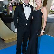 NLD/Amsterdam/20140405 - Inloop Ronald McDonald Gala 2014, Sophia de Boer en partner Erik Kwant