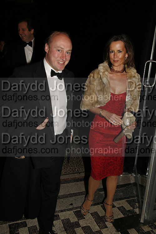 Andrew Roberts and Susan Gilchrist, The Blush Ball, Natural History Museum, London<br />Breast Cancer Haven trust charity evening for the construction of a third Haven in North England. ONE TIME USE ONLY - DO NOT ARCHIVE  &copy; Copyright Photograph by Dafydd Jones 66 Stockwell Park Rd. London SW9 0DA Tel 020 7733 0108 www.dafjones.com