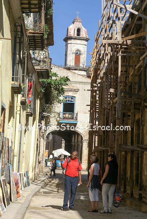 Old, Historic town, Havana, Cuba