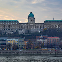Buda Castle in the Winter