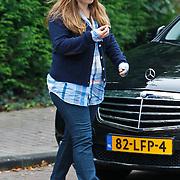 NLD/Laren/20100926 - Opnaem Gooische Vrouwen film in Laren door Leopold Witte en Lies Visschedijk,