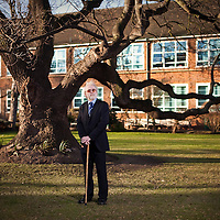 LONDON,UK 20_09_2011.Portrait of Tony Kieran, School Governor at St Angela's Ursuline School, Forest Gate..Photo © Andrew Baker..07977074356