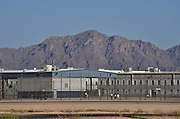 The Eloy Detention Center houses detainees who are waiting the outcome of their deportation proceedings.  The private prison is owned and operated by CoreCivic under contract with the U.S. Immigration and Customs Enforcement, Eloy, Arizona, USA.