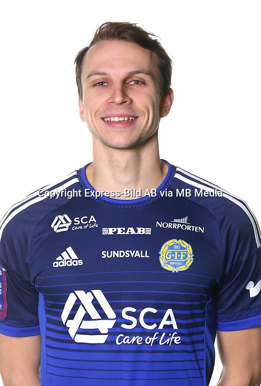 Lars Krogh Gerson<br /> Halvfigur<br /> @leverans<br /> Allsvenskan 2016<br /> Fotboll
