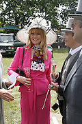 Cindy Jackson. Royal Ascot Race Meeting. Wednesday 21 June 2006. ONE TIME USE ONLY - DO NOT ARCHIVE  © Copyright Photograph by Dafydd Jones 66 Stockwell Park Rd. London SW9 0DA Tel 020 7733 0108 www.dafjones.com