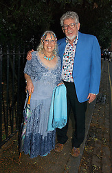 Artist ROLF HARRIS and his wife ALWEN at Sir David & Lady Carina Frost's annual summer party held in Carlyle Square, Chelsea, London on 5th July 2006.<br /><br />NON EXCLUSIVE - WORLD RIGHTS