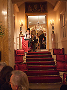 JACQUELINE DE RIBES;, Dinner for Jacqueline de Ribes after Legion d'honneur award. 50 Rue de la Bienfaisance. Paris. *** Local Caption *** -DO NOT ARCHIVE-© Copyright Photograph by Dafydd Jones. 248 Clapham Rd. London SW9 0PZ. Tel 0207 820 0771. www.dafjones.com.<br /> JACQUELINE DE RIBES;, Dinner for Jacqueline de Ribes after Legion d'honneur award. 50 Rue de la Bienfaisance. Paris.