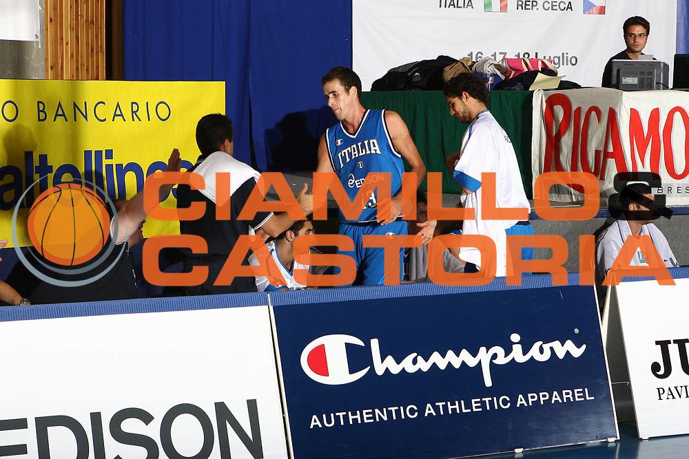 DESCRIZIONE : Bormio Torneo Internazionale Maschile Diego Gianatti Italia Senegal<br /> GIOCATORE : Luigi Datome<br /> SQUADRA : Italia Italy<br /> EVENTO : Raduno Collegiale Nazionale Maschile <br /> GARA : Italia Senegal Italy <br /> DATA : 17/07/2009 <br /> CATEGORIA :  <br /> SPORT : Pallacanestro <br /> AUTORE : Agenzia Ciamillo-Castoria/C.De Massis