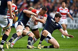 - Mandatory byline: Patrick Khachfe/JMP - 07966 386802 - 23/09/2015 - RUGBY UNION - Kingsholm Stadium - Gloucester, England - Scotland v Japan - Rugby World Cup 2015 Pool B.
