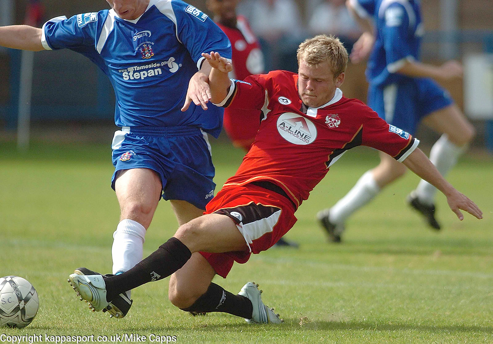 ANDY HALL,Kettering Town, Stalybridge Celtic - Kettering Town, Blue Square Conference North 11/8/2007