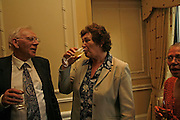 Brian Horton and Lesley Horton, 2006 Cartier CWA Diamond Dagger Awards,  The Savoy, London. 10 May 2006.  Elmore Leonard receives Crime Writers' Association award recognising an outstanding contribution to the genre. ONE TIME USE ONLY - DO NOT ARCHIVE  © Copyright Photograph by Dafydd Jones 66 Stockwell Park Rd. London SW9 0DA Tel 020 7733 0108 www.dafjones.com