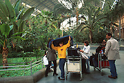 SPAIN, MADRID Atocha Railroad Station, renovated