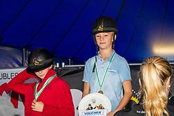 Prijsuitreiking<br /> Nationaal Tornooi LRV Ponies<br /> Zonnebeke 2019<br /> © Hippo Foto - Dirk Caremans<br /> 29/09/2019
