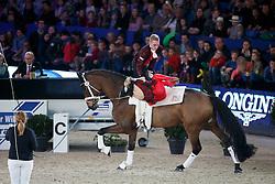 Jacobs Torben, Engelberty Pia, (GER), Danny Boy <br /> Vlaanderen Kerstjumping - Memorial Eric Wauters - <br /> Mechelen 2015<br /> © Hippo Foto - Dirk Caremans<br /> 26/12/15