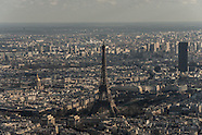 Paris aerial view. stories