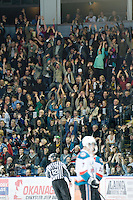 KELOWNA, CANADA, JANUARY 25: Kamloops Blazers visit the Kelowna Rockets on January 25, 2012 at Prospera Place in Kelowna, British Columbia, Canada (Photo by Marissa Baecker/Getty Images) *** Local Caption ***