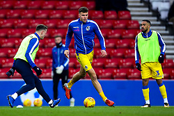 Tom Broadbent of Bristol Rovers warms up ahead of his side's Sky Bet League One fixture against Sunderland - Mandatory by-line: Robbie Stephenson/JMP - 15/12/2018 - FOOTBALL - Stadium of Light - Sunderland, England - Sunderland v Bristol Rovers - Sky Bet League One