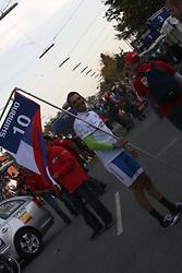 Gorazd Stangelj (Slovenia) during the Men's Elite Road Race at the UCI Road World Championships on September 25, 2011 in Copenhagen, Denmark. (Photo by Marjan Kelner / Sportida Photo Agency)