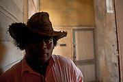 Mr. Rama Sinsamy, old office in Port Louis.