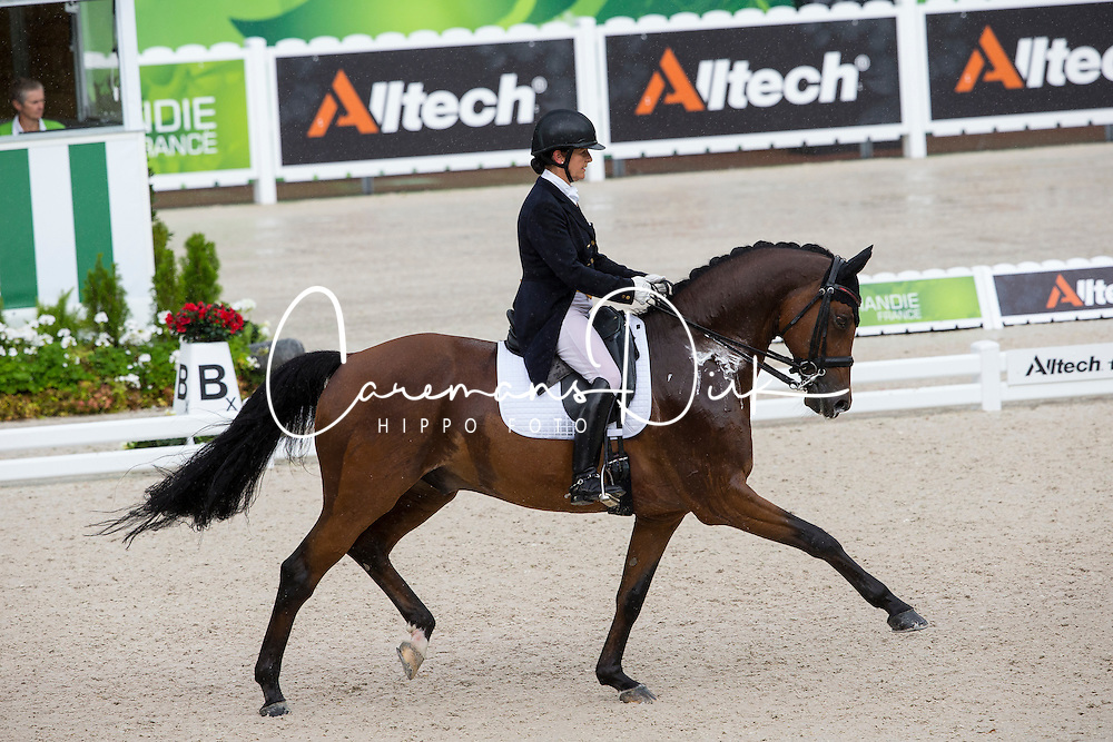 Anna Merveldt, (IRL), Vancouver - Grand Prix Team Competition Dressage - Alltech FEI World Equestrian Games&trade; 2014 - Normandy, France.<br /> &copy; Hippo Foto Team - Leanjo de Koster<br /> 25/06/14