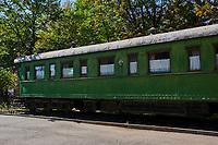 Géorgie, région de Kartlie intérieure, Gori, ville natale de Joseph Staline, le musée Joseph Staline, le train de Staline // Georgia, Caucasus, Kartlie region, Gori, Joseph Staline museum, Staline train
