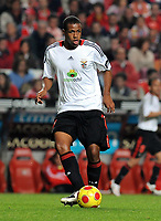 20090425: The Portuguese League is home to a growing number of African, Brazilian and Argentinean promising young players. ***FILE PHOTO*** 20081110: LISBON, PORTUGAL - SL Benfica vs Desportivo das Aves: Portuguese Cup 2008/2009. In picture: Sidnei (Benfica). PHOTO: Alvaro Isidoro/Cityfiles