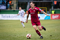 Tom Zurga of NK Triglav Kranj during football match between NŠ Mura and NK Triglav in 19th Round of Prva liga Telekom Slovenije 2018/19, on December 9, 2018 in Fazanerija, Murska Sobota, Slovenia. Photo by Blaž Weindorfer / Sportida