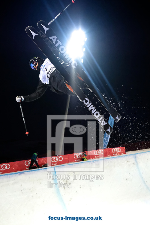 Gus Kenworthy (USA) during the Men's Half Pipe Final on Day Eleven of the FIS Freestyle Ski &amp; Snowboard World Championships 2017 at Sierra Nevada Ski Station, Granada<br /> Picture by Kristian Kane/Focus Images Ltd +44 7814 482222<br /> 18/03/2017