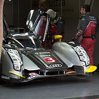 #3 Audi R18 TDI, Audi Sport North America, Drivers Capello/Kristensen/McNish, pre-race Le Mans 24H, 2011