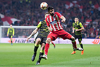 Sporting de Lisboa Diego Costa during UEFA Europa League match between Atletico de Madrid and Sporting de Lisboa at Wanda Metropolitano in Madrid, Spain. April 05, 2018. (ALTERPHOTOS/Borja B.Hojas)