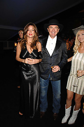 Left to right, REBECCA LOOS, WAYNE SHARPE and ANNEKA SVENSKA at the London Red Cross Ball themed 'Honky Tonk Blues' held at 99 Upper Ground, London SE1 on 21st November 2007.<br /><br />NON EXCLUSIVE - WORLD RIGHTS